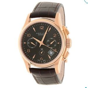 NIB Men's Hamilton Jazzmaster Auto Chrono 42mm